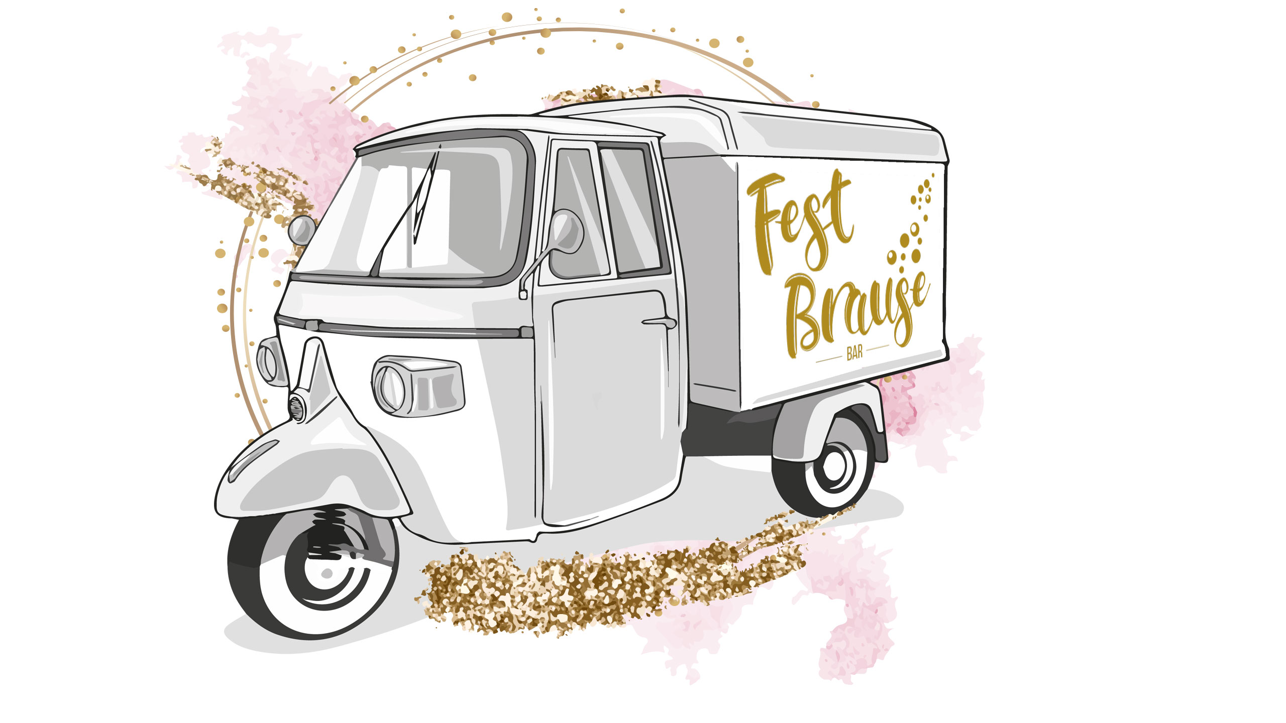 Fest Brause-Bar Unsere Mobile Prosecco Bar